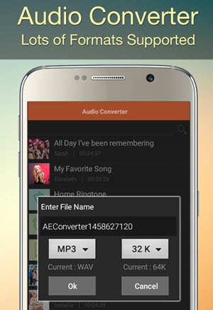 android convert mp3