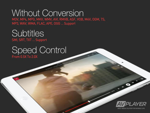 best ipad flv player