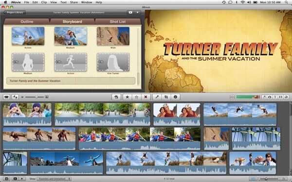 trim mp4 using iMovie