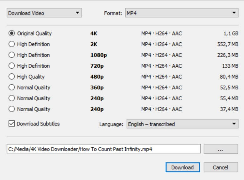 dailymotion mp4 video converter