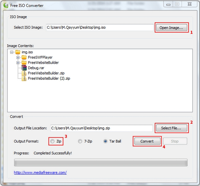 How to Convert ISO to MP4 using Free ISO Converter