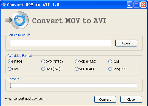 convert move to avi