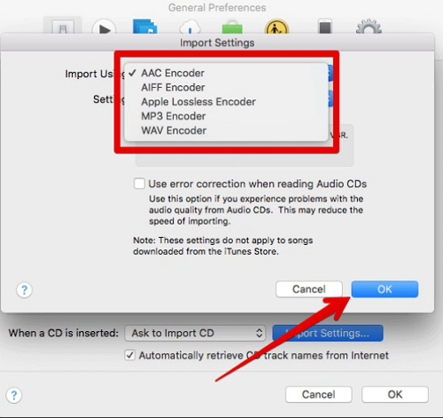 Convert Music to MP4 in itunes