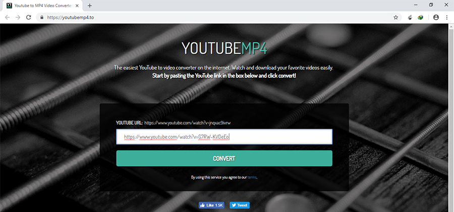 convert youtube to mp4 online