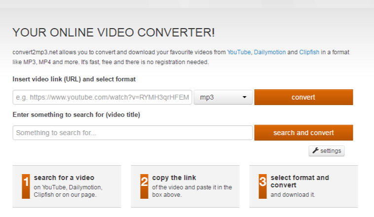 convert2mp3 net online youtube to mp3 converter
