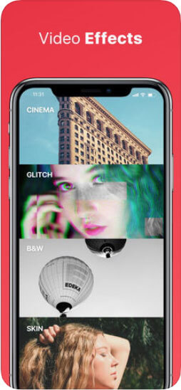 Crop MP4 on iphone with InShot Video Editor