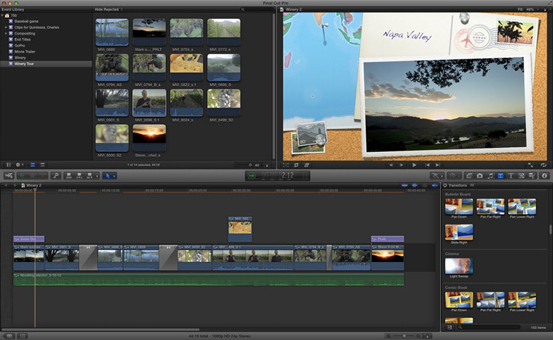 final cut pro x mts