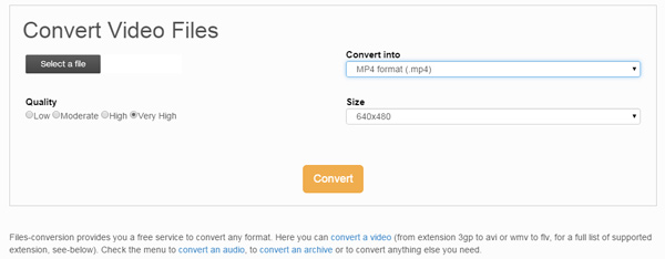 online flv to mp4 converter