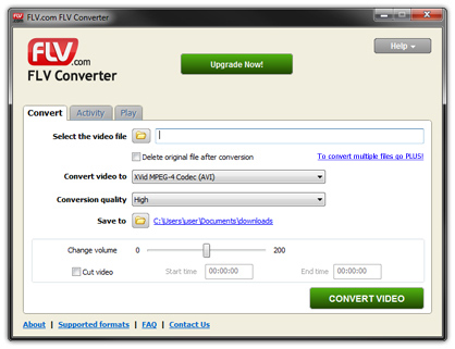 convert flv to avi free