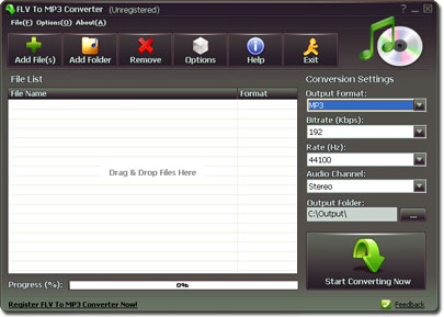 Best 5 Free FLV to MP3 Converter