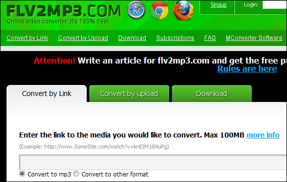 free flv to mp3 converter download