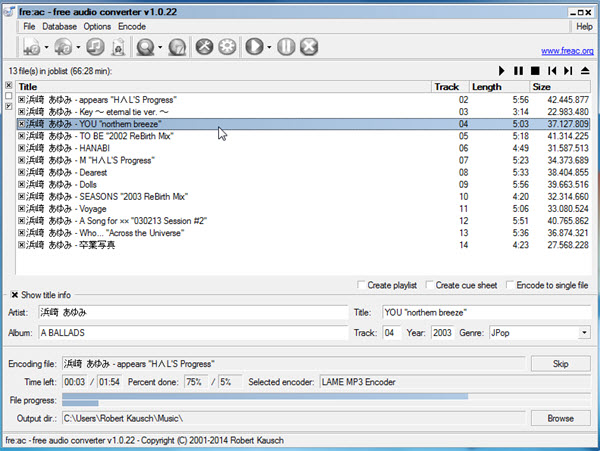 converter gratuito aac in mp3