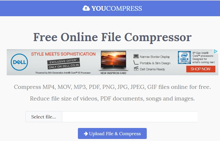 Compress Video Online for WhatsApp with Free Online File Compressor