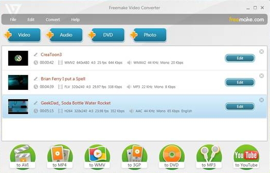 converter wmv files to avi
