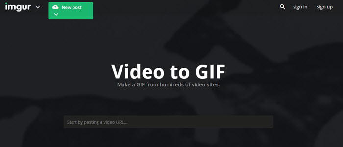 online mp4 to gif