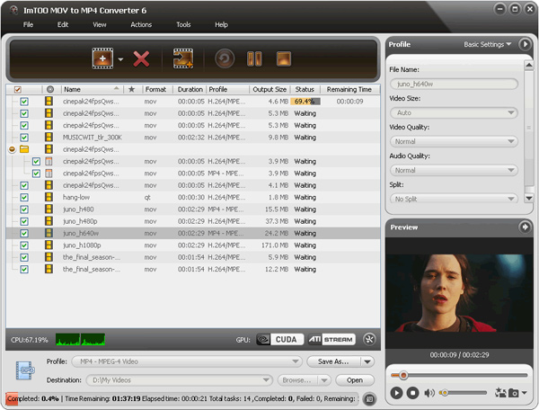 mov to mp4 converter free download