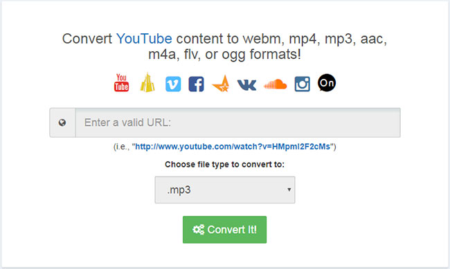 convert youtube video to audio online