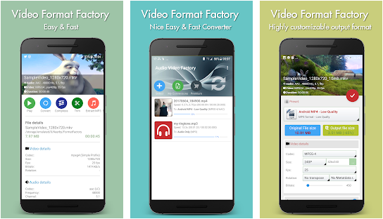 Best MP4 to AVI/3GP Video Converter for Android