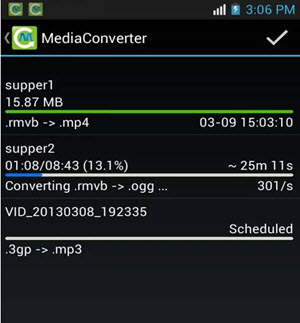 aac and mp3 android