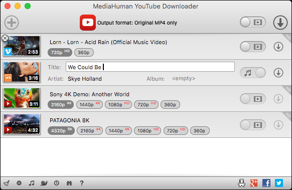 youtube converter Airy