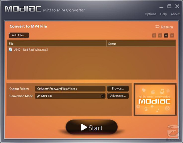 mp3 to mp4 converter online