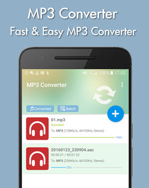 wav in mp3 converter android