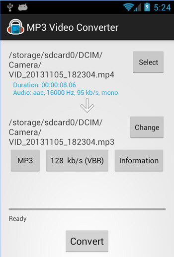 video to mp3 converter for android apk