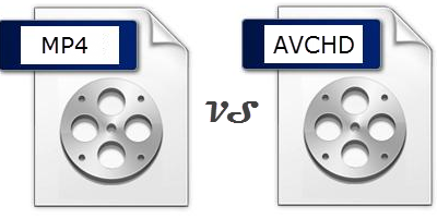 avchd vs mp4