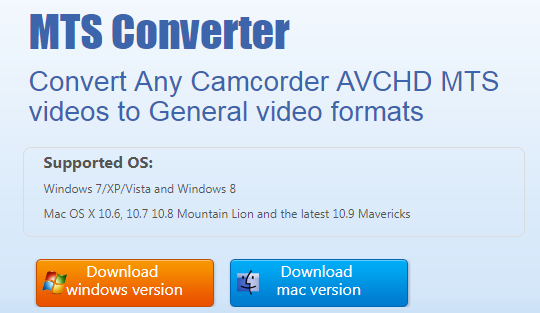 mts converter windows 10