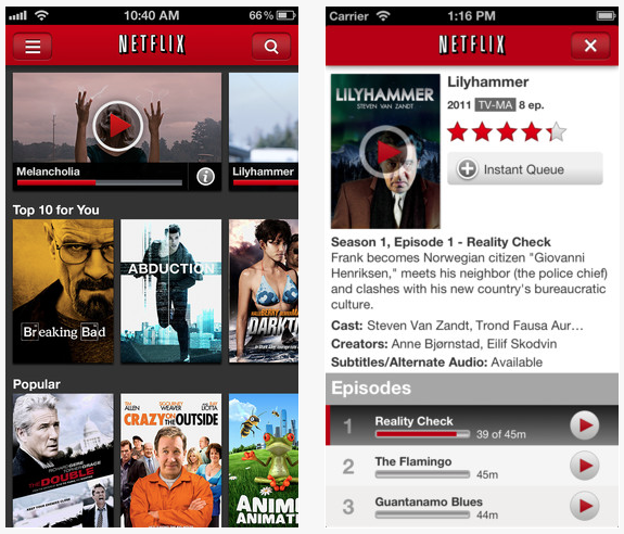how to Watch Netflix videos on ipad