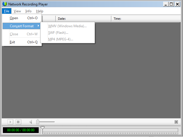 wrf to mp4 converter software