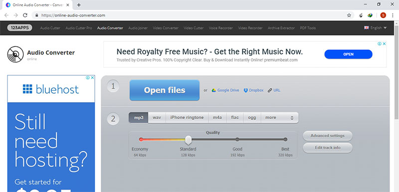 convert flac to mp3 online
