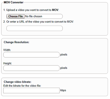 mp4 to mov converter online