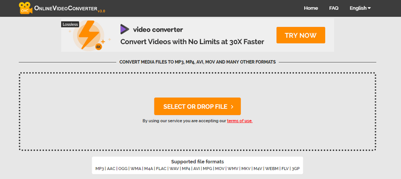 WAV to AVI Online video Converter