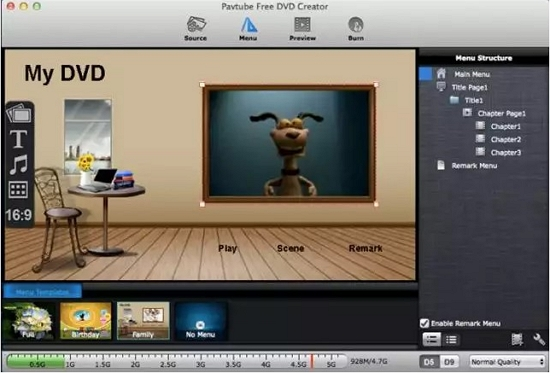 Pavtube Free DVD Creator