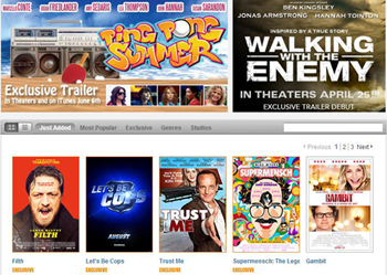 how to watch trailers on itunes