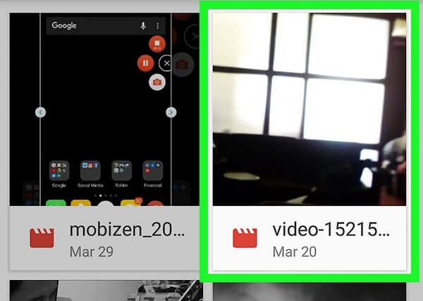 rotate MP4 on android step 3