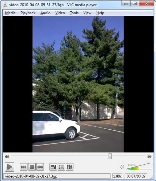 rotate MP4 video in VLC step 4