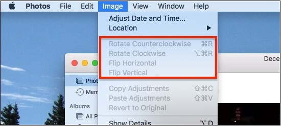 rotate MP4 on Mac step 3