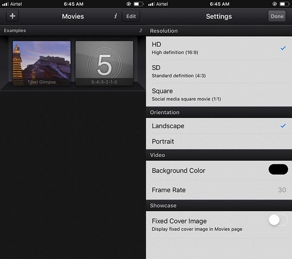 How to Shorten iPhone Video usingCute Cut step 1