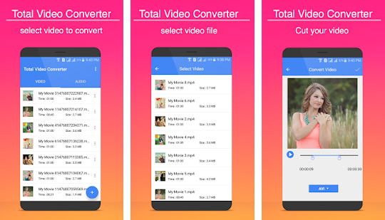 android app video to mp4 converter