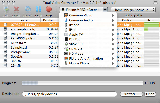 video converter mp4 to avi android
