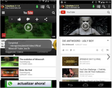 android app for converting youtube videos to mp3