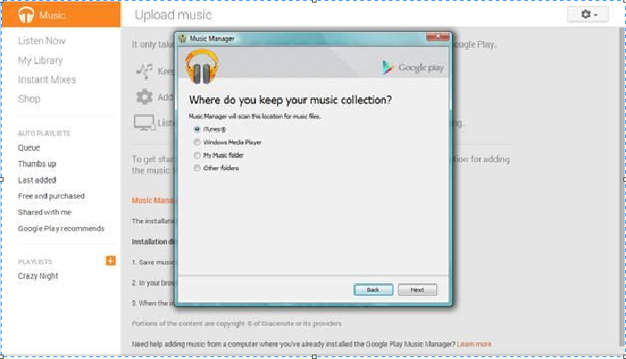 Can Google Play Music Play or Upload FLAC?