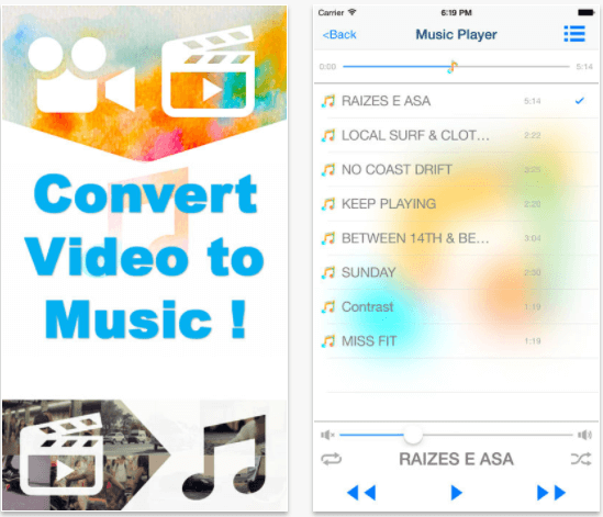 convert youtube video to audio for iphone