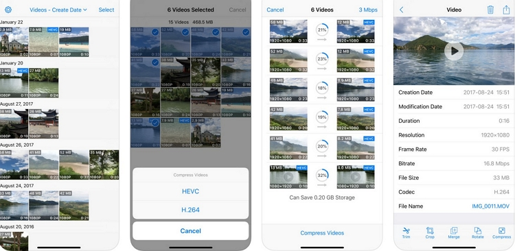 10 Best Video Compressor App for iPhone & Android Device