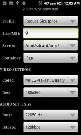 android wav in mp3