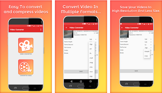 video to mp4 for android