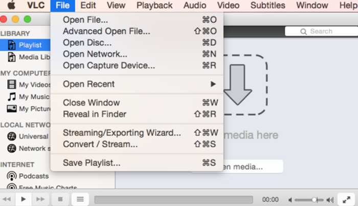 convert mp4 to mp3 mac vlc