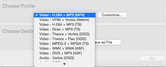 vlc convert mp4 to mp3 mac
